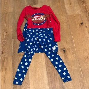 1b993b4e78f Other - super pregnant pajamas with cape and pants